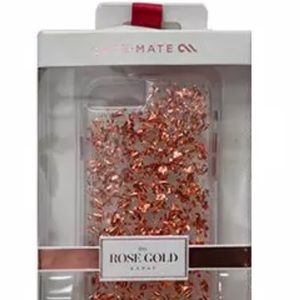 Case-mate rose gold NWB Karat clear case iPhone 8